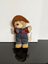 Wendys Furskins Happy Meal Bear Farrel Furskin Holiday New With Tag Vintage 1986