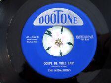 MEDALLIONS - The Telegram / Coupe De Ville Baby - Doo Wop 45 - Original - VG+