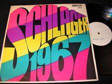 SCHLAGER 1967 Edith Haas, Klaus Sommer... / DDR PROMO LP 1967 AMIGA 850095