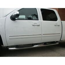 """1"""" Chrome Door Molding Trim for 2007-2008 Silverado Crew Cab"""