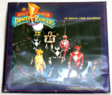 Vintage Factory Sealed 1996 Mighty Morphin Power Rangers 16 Month Calendar 1st G