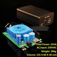 2019 15VA DC5V USB 2.1A linear power Supply FOR fever DC CAS XMOS Raspberry Pi