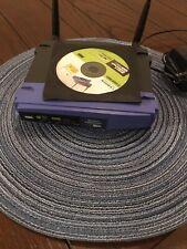 Linksys WRT54GL Wi-Fi Wireless-G Broadband Router With Installation Setup DVD