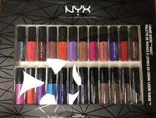 Nyx Liquid Suede Vault 24 Piece Lipstick Set. New In Box!