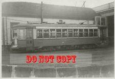 6G288 RP 1946 EASTERN MASS STREET RAILWAY QUINCY BARN CAR #7034