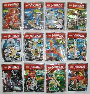 Auswählen Lego Ninjago Minifiguren Ninja Polybag Zane Jay Cole Kai Lloyd Nya Wu