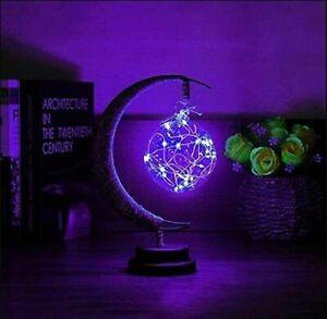 Bedroom Decor LED Moon Night Light Lamp Table Lamp kids room lamp Xmas Gift