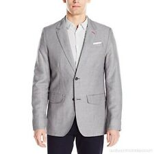 NEW MEN'S VICTORINOX SWISS ARMY VECTOR ALLOY GREY BLAZER JACKET SIZE 44 NWT