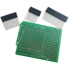 Prototype PCB for Arduino UNO R3 Shield Board DIY, Combo 2mm + 2.54mm Pitch