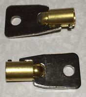 Replacement KEY HMC2501 to HMC2750 2-NEW KEYS FOR Protex Gun Wall Safe Homak