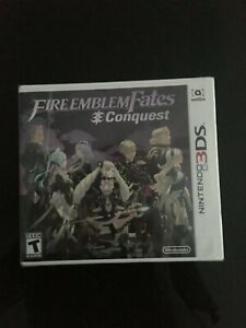 Fire Emblem Fates: Conquest (Nintendo 3DS, 2016) Brand New Factory Sealed