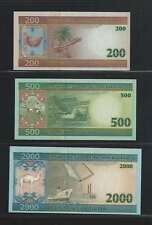 Mauritanie   Lot de 3 billets différents  en état NEUF  Lot Numéro 2