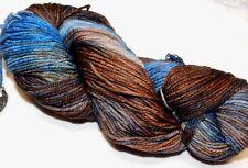CIELO Y TIERRA Lg 210yd Skein Malabrigo RIOS Superwash MERINO Wool SOFT ww YARN