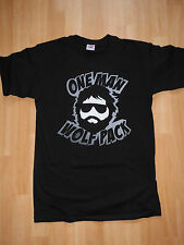 The Hangover Fun t-shirt, culto, - One Man Wolf Pack-s zach galifianakis Wolf Pack