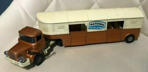 Vintage Corgi Major Toys Articulated Horse Box National Racing Stables