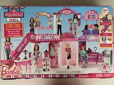 Barbie Malibu Mall: Boutique, Salon, Food Court, Escalator, Movie Screen Retired