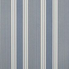 "Clarke and Clarke Sail Stripe Cloud Fabric 137cm/ 54"" Wide"