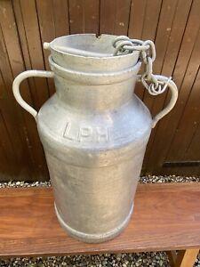 French Vintage Restored Milk Churn
