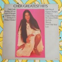 Cher Greatest Hits Vintage 12 Inch Vinyl LP