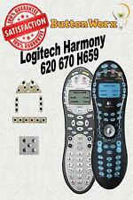 Logitech Harmony 620 670 H659 Button Repair Kit DIY Universal Remote Control