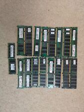 Job Lot RAM Memory Modules 20 Pieces