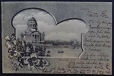postcard Deutsches Reich Dessau Mausoleum