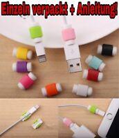 5x Kabelschutz Knickschutz Kabelbruch Ladekabel Kappen für alle iPhone iPad Mod.