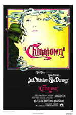 Chinatown Movie Mini Promo Poster Roman Polanski Jack Nicholson Faye Dunaway