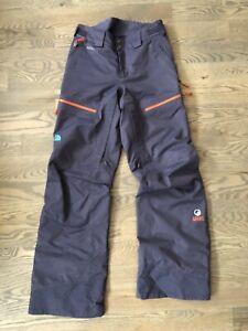 North Face steep series Gore tex snowboard pants womens small Recco