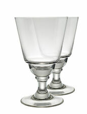 LYON ABSINTHE GLASSES without CUTS, SET OF 2 & 10 SUGAR CUBES