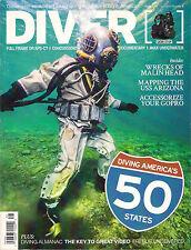 DIVER Vol. 40 No. 8 SCUBA DIVING America's 50 States Key to Great Video Wrecks