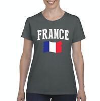 France  Women Shirts T-Shirt Tee