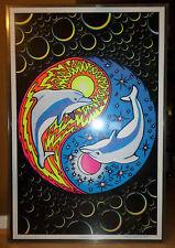 Blacklight Felt Poster Ying Yang Feng Shui #925 Psychedelic Funky Enterprises