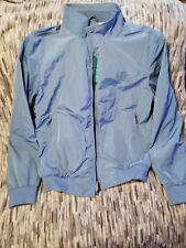 Burberry Brit Packable Lightweight Jacket. Light Blue. Medium. Retail $425