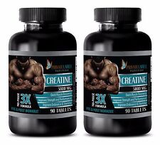 Sports Supplements - CREATINE TRI-PHASE 3X 5000mg - Boosts Muscle Strength 2B