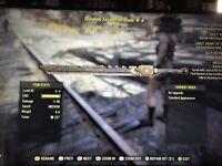 Fallout 76 PS4 Bloodied Assaultron Blade +Limb Damage