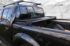 PER NISSAN NAVARA D40 teckna leggero Tri Fold CAPOTE qualità OEM