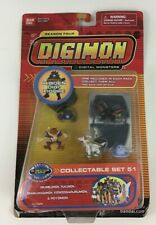 Digimon Season Four Collectable Set 51 PVC Figure Set Kendogarurumon Bandai New