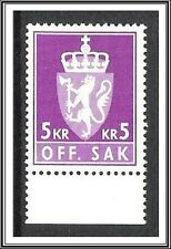 Norway #O113 Official MNH