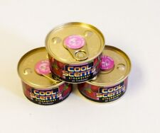 3 Cans California Cool Scents Spillproof Car Home Air Freshener Strawberry