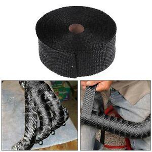 15 Meter Hitzeschutzband Selbstklebend Auspuffband Thermoband Auspuff Bis 1400°C