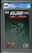 G.I.JOE Cobra Civil War 0 Variant RARE Muzzle Flash Edition Dell'Otto CGC 9.8