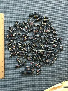 big vintage Sprague bumblebees mixed lot capacitors 15 oz