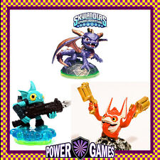 Skylanders Spyro's Adventure Trigger Happy Tech & Spyro & Gill Grunt Water