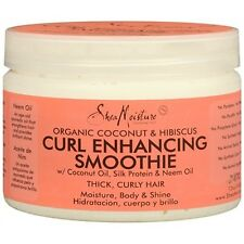 Shea Moisture Organic Curl Enhancing Smoothie Coconut & Hibiscus - THICK, CURLY