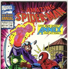 The Amazing Spider-Man Annual #27 Black Cat & Lizard from 1993 in Fine- con. Ns