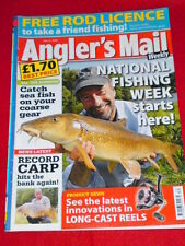 ANGLERS MAIL - CATCH SEA FISH ON COARSE GEAR - July 21 2009