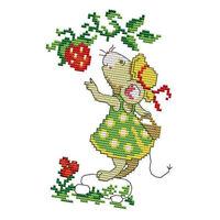Kreuzstich Kits DIY Stickerei 11 14 Count für Kinder Home Decor Crafts