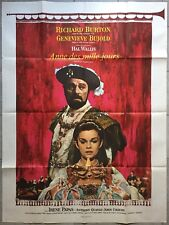 Poster Anne of the Thousand Days Bujold Richard Burton Irene Papas 120x160cm*