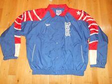 Vintage 90s REEBOK Pro Line NEW ENGLAND PATRIOTS Men NFL Team  JACKET XXL